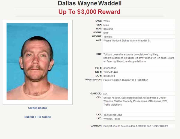 "<div class=""meta ""><span class=""caption-text "">Suspect on the Texas 10 Most Wanted Sex Offender list. (Texas Department of Public Safety)</span></div>"