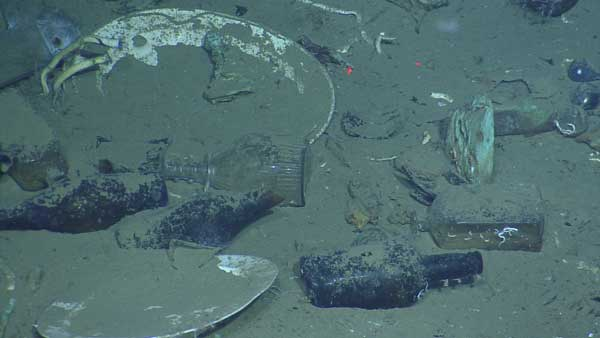 "<div class=""meta ""><span class=""caption-text "">Alcoholic beverage bottles, ceramic plates and a clear glass decanter lie scattered in the wreckage of an early 19th century shipwreck recently documented and partially excavated in the Gulf of Mexico in more than 4,300 feet of water.  The wreck is one of three sites investigated by scientists from the Bureau of Ocean Energy Management, the National Oceanic and Atmospheric Administration, the Bureau of Safety and Environmental Enforcement, the Texas Historical Commission, and the Meadows Center for Water and the Environment at Texas State University.  The project was funded by donations and sponsorships arranged by the Meadows Center, and conducted in partnership with the Ocean Exploration Trust at the University of Rhode Island on board the Exploration Vessel Nautilus. (Ocean Exploration Trust/Meadows Center for Water and the Environment, TSU)</span></div>"