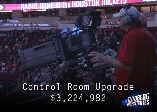 The 2013 NBA All Star Game was in Houston in February.  To attract the game, the Houston Host Committee agreed to make millions of dollars worth of upgrades to Toyota Center at taxpayer cost.  It's all part of a Texas program to attract big events.  We finally have the bills for the upgrades.  Take a look at what your tax money is paying for.