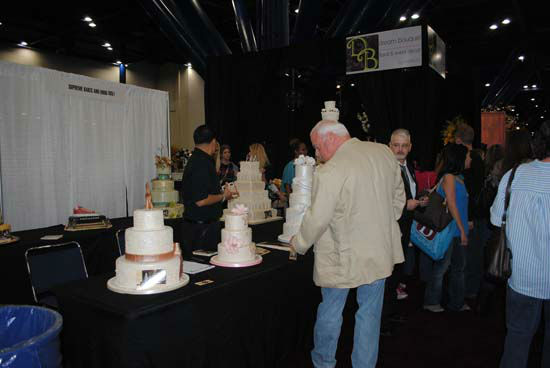 "<div class=""meta ""><span class=""caption-text "">The Bridal Extravaganza Show was held over the weekend at the George R. Brown Convention Center.  It featured more than 400 companies in 700 display showcases -- from dresses, cakes, flowers and so much more. (Photo/ABC-13)</span></div>"