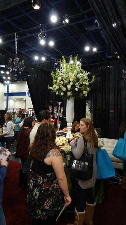 The Bridal Extravaganza Show was held over the weekend at the George R. Brown Convention Center.  It featured more than 400 companies in 700 display showcases -- from dresses, cakes, flowers and so much more. <span class=meta>(Photo&#47;ABC-13)</span>