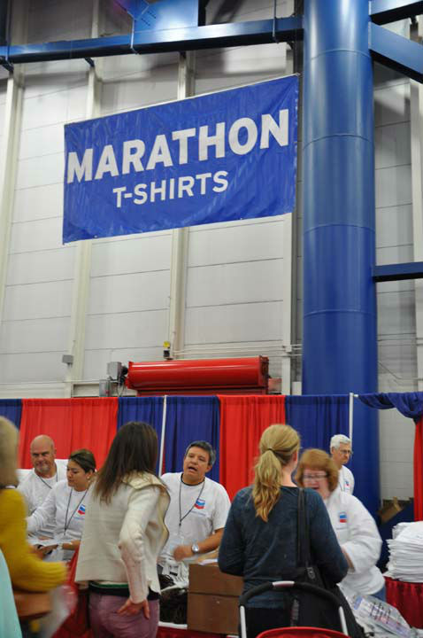 One of the festivities surrounding the Chevron Houston Marathon this weekend is the Ironman Sports Medicine Institute at Memorial Hermann EXPO being held at the George R. Brown Convention Center. Vendors from across the country are showcasing the latest in running gear and fitness products. The event is free and runs from 11am until 7pm  Friday and 9am until 7pm Saturday. <span class=meta>(ABC13&#47;Blanca Beltran)</span>