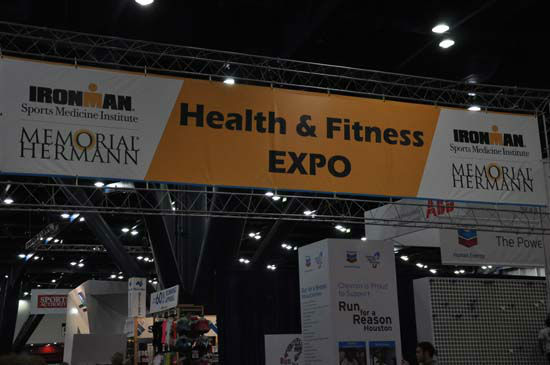 "<div class=""meta image-caption""><div class=""origin-logo origin-image ""><span></span></div><span class=""caption-text"">One of the festivities surrounding the Chevron Houston Marathon this weekend is the Ironman Sports Medicine Institute at Memorial Hermann EXPO being held at the George R. Brown Convention Center. Vendors from across the country are showcasing the latest in running gear and fitness products. The event is free and runs from 11am until 7pm  Friday and 9am until 7pm Saturday. (ABC13/Blanca Beltran)</span></div>"