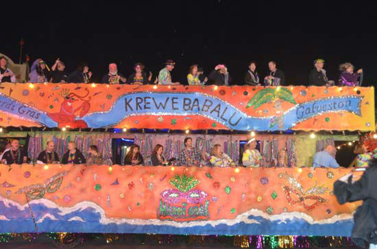 "<div class=""meta ""><span class=""caption-text "">The annual Galveston Mardi Gras Knights of Momus parade was full of elaborate floats, marching bands, and bead-throwing action (ABC13/Blanca Beltran)</span></div>"
