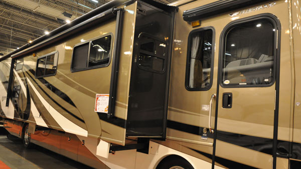 "<div class=""meta ""><span class=""caption-text "">The Houston RV Show is now the largest in Texas with over 600 units on display, including motorhomes, travel trailers, tent campers, and van conversions.   The show runs Wednesday, February 8, through Sunday, February 12.  Click here for more info on the show. (Blanca Beltran)</span></div>"
