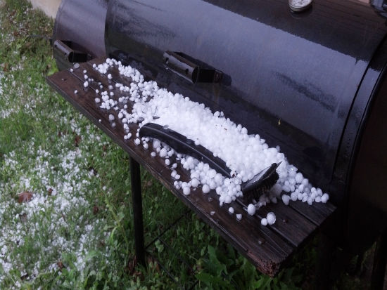 These are just some of the photos you sent in from Monday&#39;s hail storm. You can see more here.  If you took weather photos or videos, email them to us at news@abc13.com! <span class=meta>(iWitness photo)</span>