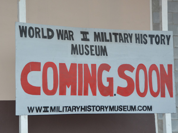 "<div class=""meta image-caption""><div class=""origin-logo origin-image ""><span></span></div><span class=""caption-text"">The Military History Museum features many items from the American Civil War, World War I and World War II and it is set to open this year on Canal Street in the East End (KTRK/Blanca Beltran)</span></div>"