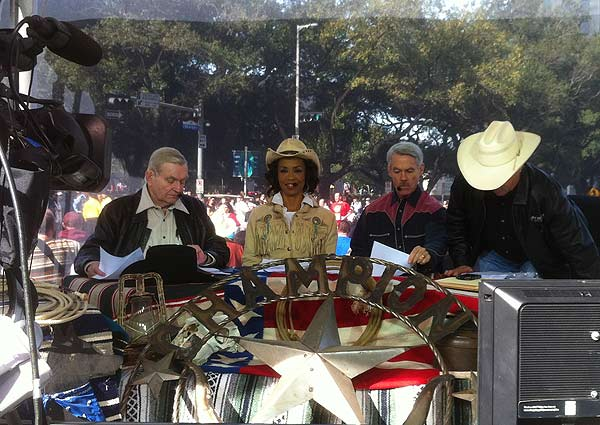 "<div class=""meta image-caption""><div class=""origin-logo origin-image ""><span></span></div><span class=""caption-text"">The Downtown Rodeo Parade filled the streets of Houston with horses, wagons, music and smiles on Saturday, February 23, 2013.  The parade welcomed the trail riders in grand fashion with marching bands and floats in a celebration of Western heritage, all just before the Houston Livestock Show and Rodeo.</span></div>"