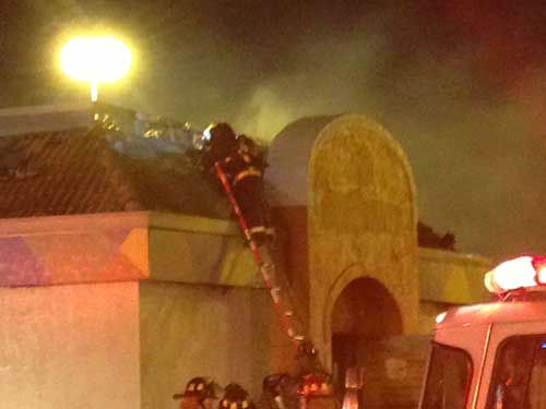 "<div class=""meta image-caption""><div class=""origin-logo origin-image ""><span></span></div><span class=""caption-text"">Firefighters battle a blaze at Taco Bell in west Houston while high winds fuel the flames (KTRK Photo)</span></div>"