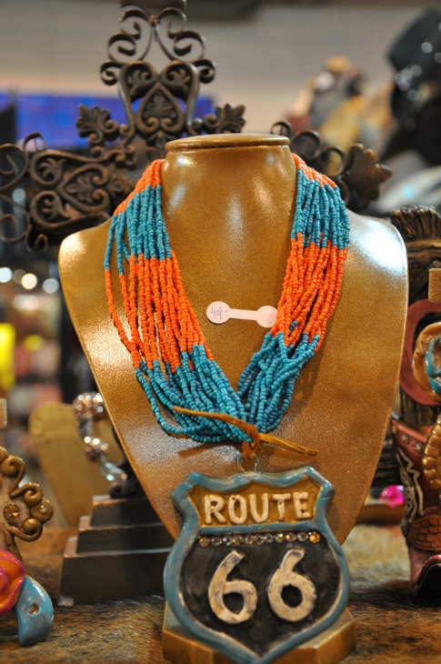There is plenty of shopping to do at the Houston Livestock Show and Rodeo.  The Reliant Center has been transformed into a massive one-of-a-kind Western shopping mall.  You can purchase everything from Western clothes, gourmet food to unique arts and crafts. <span class=meta>(ABC-13&#47;Blanca Beltran)</span>