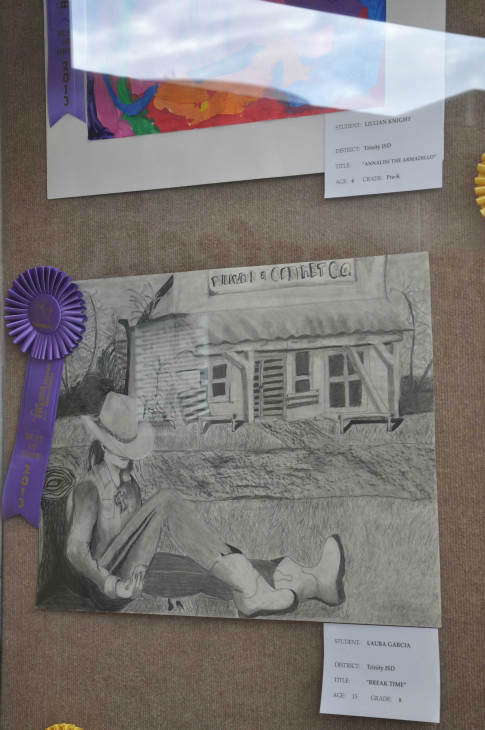 "<div class=""meta ""><span class=""caption-text "">Many students from different school districts had their Houston Livestock Show and Rodeo art work displayed at the Reliant Center. (Photo/ABC-13)</span></div>"