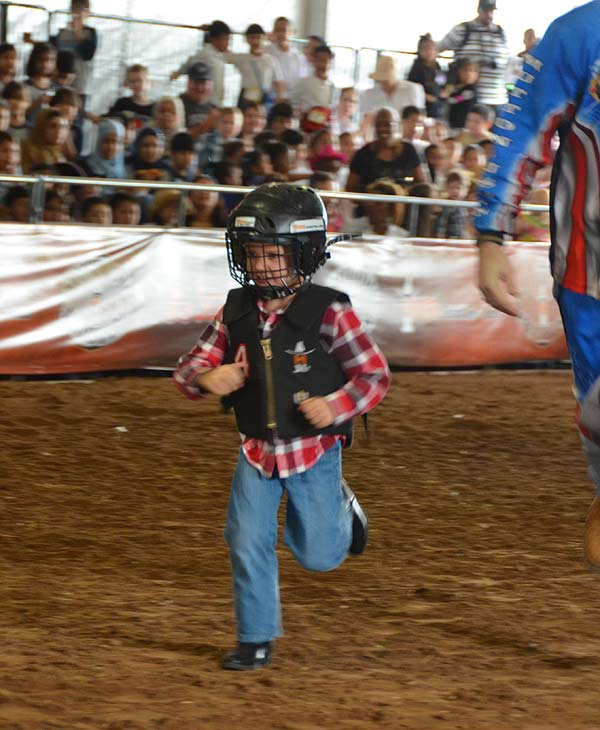 Mutton Bustin&#39; is an exciting part of the Houston Livestock Show and Rodeo.  Kids can take part of the mutton bustin&#39; competition in the in Kids Country area. <span class=meta>(KTRK&#47;Blanca Beltran)</span>