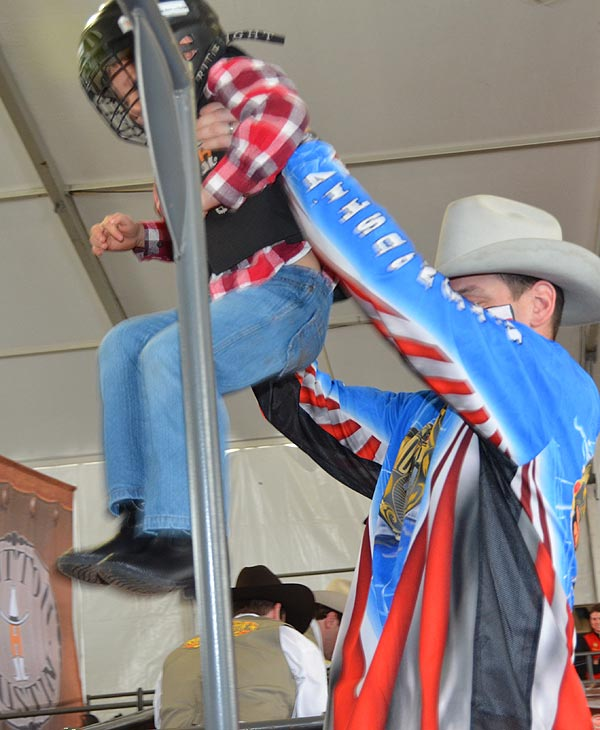 "<div class=""meta ""><span class=""caption-text "">Mutton Bustin' is an exciting part of the Houston Livestock Show and Rodeo.  Kids can take part of the mutton bustin' competition in the in Kids Country area. (KTRK/Blanca Beltran)</span></div>"