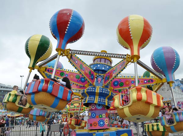 Images from the Carnival at the Houston Livestock Show and Rodeo  <span class=meta>(KTRK&#47;Blanca Beltran)</span>
