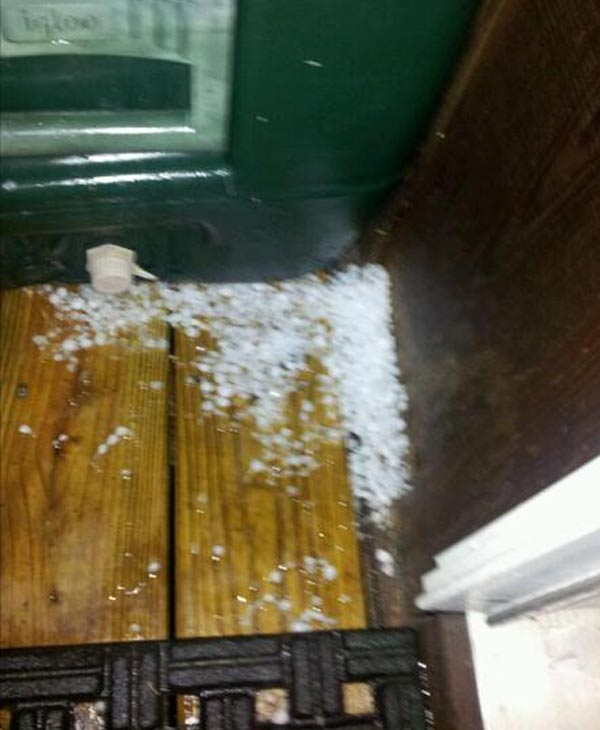 "<div class=""meta ""><span class=""caption-text "">Check out some of the photos you sent in from the hail that hit southeast Texas Wednesday morning (iWitness photo)</span></div>"