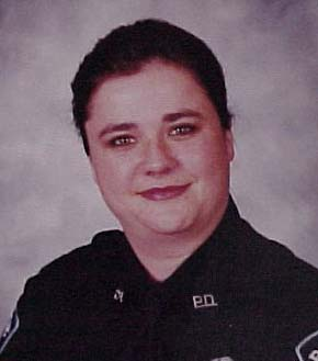 Sgt. Jennifer Simpson Castaneda was shot in the arm and taken by ambulance to LBJ Hospital.