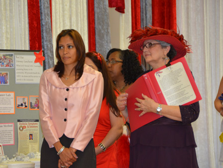 "<div class=""meta ""><span class=""caption-text "">The Adult Reading Center held its annual Red Hat Literacy Luncheon this week.  It's an event that celebrates the community's enthusiasm in developing better reading skills. ABC-13 anchor Elissa Rivas served as Mistress of Ceremonies.  At least three scholarships were handed out to students seeking to further their education. (KTRK/Blanca Beltran)</span></div>"