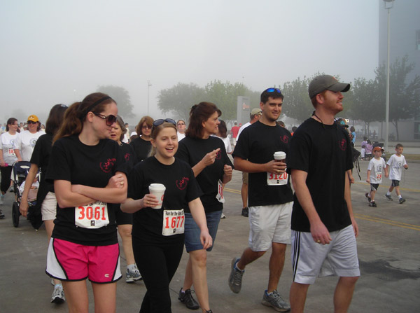 Images from the 10th Annual Run for the Rose held at Reliant Stadium on Sunday.   If you were there and took photos, email them to us at news@abc13.com or upload them here. <span class=meta>(KTRK)</span>
