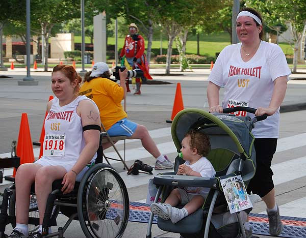 "<div class=""meta image-caption""><div class=""origin-logo origin-image ""><span></span></div><span class=""caption-text"">Thousands of participants came out to the 2011 Run for the Rose at Reliant Park on Sunday, April 10.  Proceeds benefit the Dr. Marnie Rose Foundation, supporting brain cancer research.</span></div>"