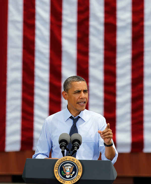 President Barack Obama is part of Time Magazine&#39;s 2012 list of 100 most influential people in the world.   Click Here for the entire list <span class=meta>(AP)</span>