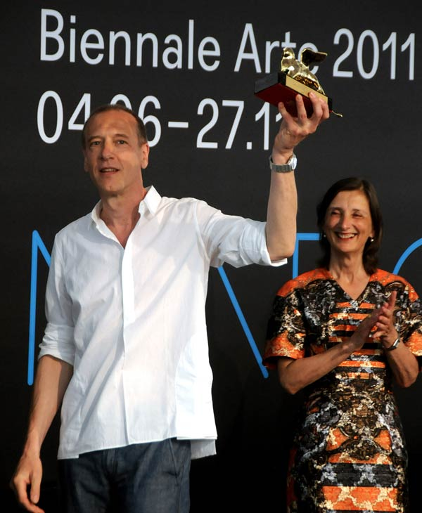 "<div class=""meta ""><span class=""caption-text "">US artist Christian Marclay made the Time Magazine's 2012 list of 100 most influential people in the world.   Click Here for the entire list (AP)</span></div>"