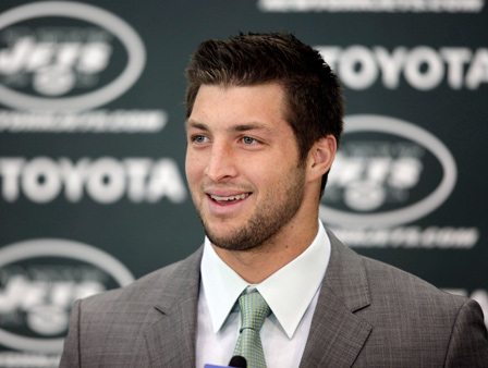 NFL player Tim Tebow made the Time Magazine&#39;s 2012 list of 100 most influential people in the world.  Click Here for the entire list <span class=meta>(AP)</span>