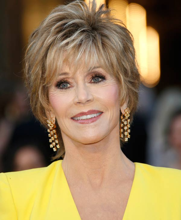 Actress Jane Fonda at age 75 is ranked at No. 5 on the 2013 World&#39;s Most Beautiful list.  To see the full list log onto People.com <span class=meta>(AP Photo)</span>