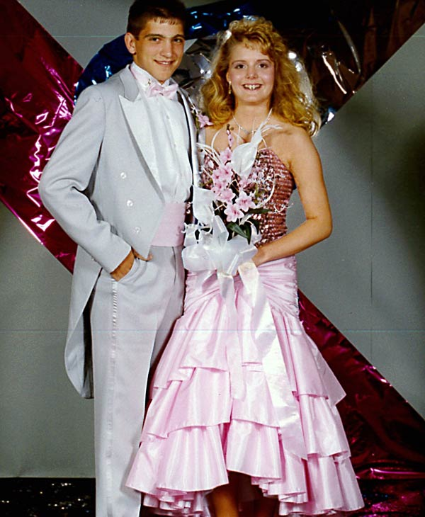 Christine Dobbyn's prom photo