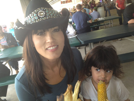 ABC-13 anchor Adela Uchida with her daughter <span class=meta>(Adela Uchida)</span>