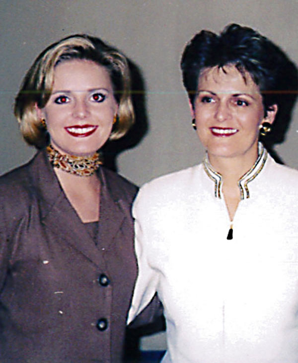 ABC-13 reporter Christine Dobbyn and her mother Linda <span class=meta>(Christine Dobbyn)</span>