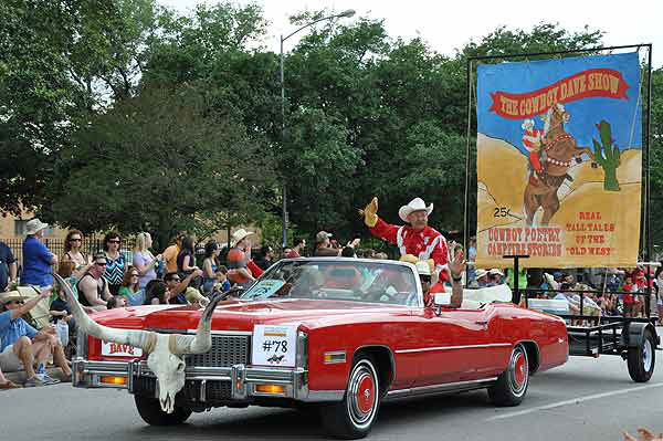 More than 250 entries took to the streets in Houston&#39;s 26th Annual Art Car Parade, billed as the city&#39;s largest free public art event.  Designs of all shapes and sizes amazed and delighted the crowd on Saturday, May 11, 2013. <span class=meta>(KTRK Photo)</span>