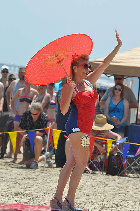 "<div class=""meta image-caption""><div class=""origin-logo origin-image ""><span></span></div><span class=""caption-text"">The Galveston Island Bathing Beauties Revue was held on Armed Forces Day, Saturday, May 18, 2013.  Honoring our service men and women, as well as the history of Galveston Island, 40 contestants graced the beach in their vintage swimwear.  The annual event highlighted the weekend-long Galveston Island Beach Revue activities, celebrating the history of the island, while having fun in the sun! (KTRK Photo)</span></div>"