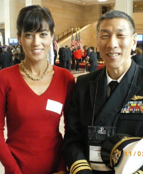 "<div class=""meta ""><span class=""caption-text "">ABC-13 anchor/reporter Adela Uchida at the Congressional Gold Medal ceremony for the Japanese American WWII vets.  Her dad was representing his father, who was among the honorees. (Adela Uchida)</span></div>"