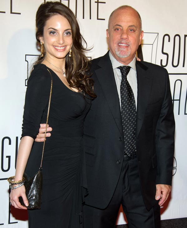 Alexa Ray Joel and Billy Joel arrive at the 42nd Annual Songwriters Hall of Fame Awards in New York, Thursday, June 16, 2011. &#40;AP Photo&#47;Charles Sykes&#41; <span class=meta>(AP Photo)</span>