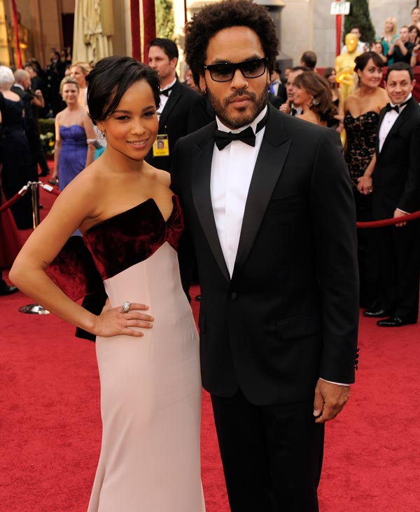 Lenny Kravitz and his daughter Zoe Kravitz arrive at the 82nd Academy Awards Sunday, March 7, 2010, in the Hollywood section of Los Angeles. &#40;AP Photo&#47;Chris Pizzello&#41; <span class=meta>(AP Photo)</span>