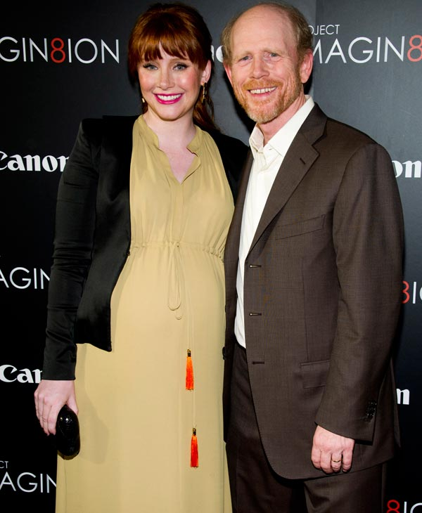 Ron Howard and his daughter Bryce Dallas Howard attend the premiere of &#34;When You Find Me,&#34; inspired by Canon&#39;s &#34;Project Imagin8ion&#34; contest, in New York, Tuesday, Nov. 15, 2011. &#40;AP Photo&#47;Charles Sykes&#41; <span class=meta>(AP Photo)</span>