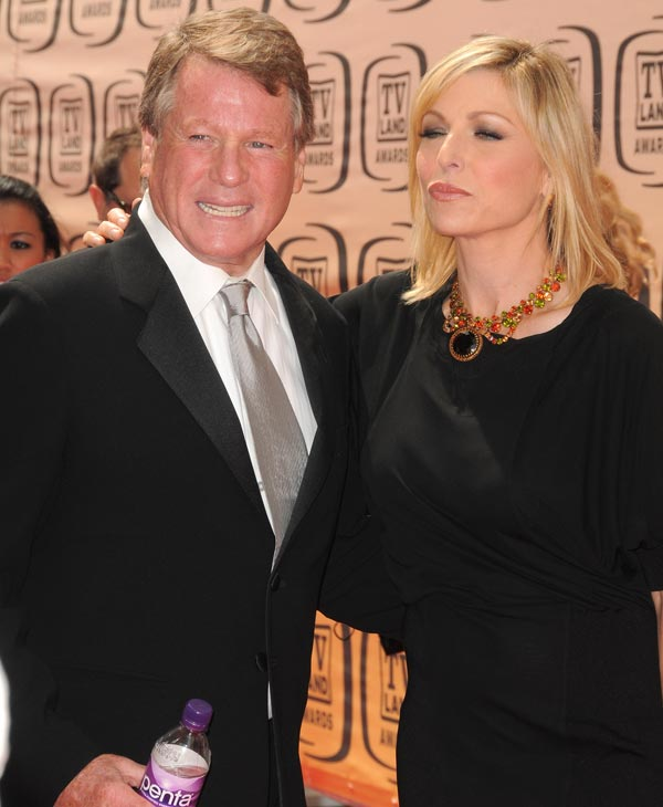 Actress Tatum O&#39;Neal and Ryan O&#39;Neal arrive at 8th Annual TV Land Awards at Sony Studios on April 17, 2010 in Los Angeles, California. &#40;Photo by Jordan Strauss&#47;Invision&#47;AP Images&#41; <span class=meta>(AP Photo)</span>