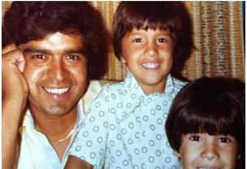 Young ABC-13 Reporter Patricia Lopez with her father <span class=meta>(Patricia Lopez)</span>