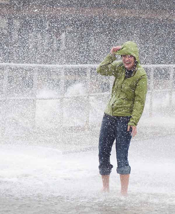 "<div class=""meta image-caption""><div class=""origin-logo origin-image ""><span></span></div><span class=""caption-text"">A young girl reacts to a breaking waves at Cedar Key, Fla., as Tropical Storm Debby makes it's way across the Gulf of Mexico early Sunday, June 24, 2012 drenching the Gulf coast of Florida in it's wake. Parts of Florida, including the Panhandle, remain under a tropical storm warning as Debby churns off the Gulf Coast. (AP Photo/Phil Sandlin)</span></div>"