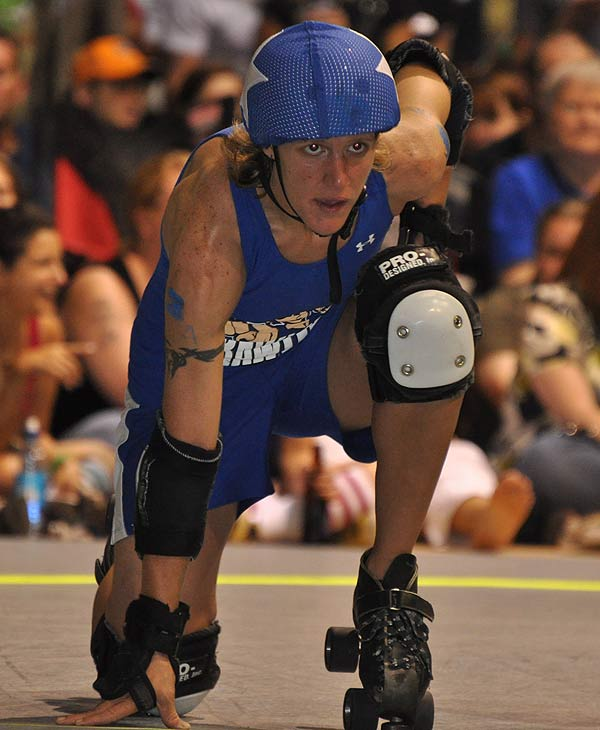 "<div class=""meta image-caption""><div class=""origin-logo origin-image ""><span></span></div><span class=""caption-text"">The Houston Roller Derby heated up the rink at KICKS Indoor Soccer facility on Saturday, July 17, 2010, as Houston's Brawlers took on the Hustlers from Austin, followed by a bout between the Bayou City Bosses and the Psych Ward Sirens.  For more information on the teams and athletes, visit Houston Roller Derby's website.</span></div>"