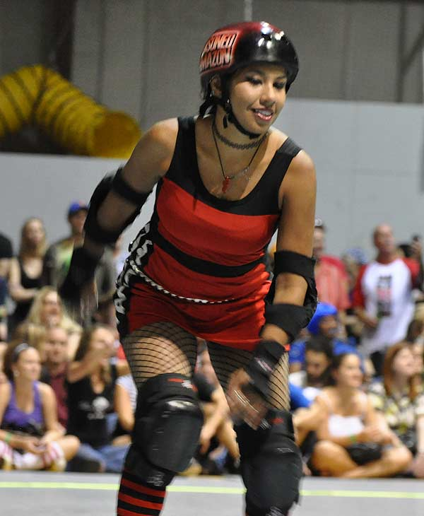 "<div class=""meta ""><span class=""caption-text "">The Houston Roller Derby heated up the rink at KICKS Indoor Soccer facility on Saturday, July 17, 2010, as Houston's Brawlers took on the Hustlers from Austin, followed by a bout between the Bayou City Bosses and the Psych Ward Sirens.  For more information on the teams and athletes, visit Houston Roller Derby's website.</span></div>"