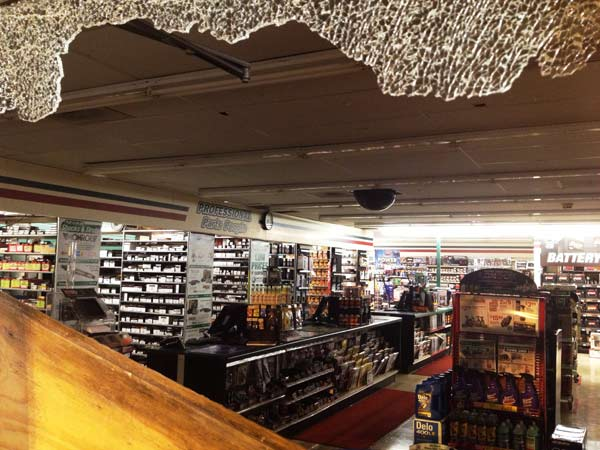 Police say thieves broke into several auto parts stores using sophisticated equipment, getting away with the contents of the safes <span class=meta>(John Mizwa)</span>