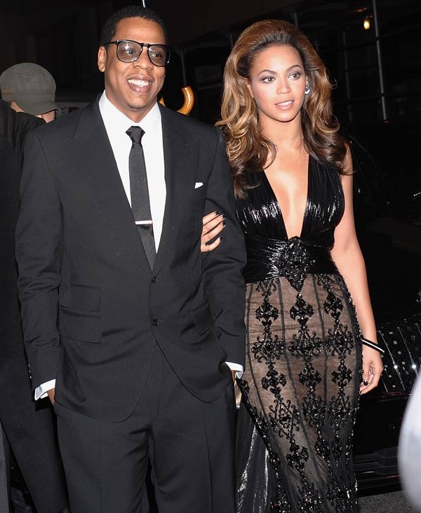 Beyonce, seen here with husband and Jay-Z, was on the list at No. 17 <span class=meta>(AP Photo)</span>