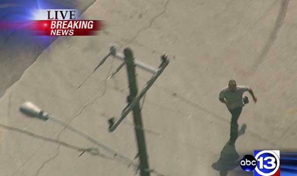 "<div class=""meta image-caption""><div class=""origin-logo origin-image ""><span></span></div><span class=""caption-text"">These are photos from Sky Eye HD of the pursuit that unfolded across the Houston  area Thursday afternoon  (Photo/ABC13)</span></div>"