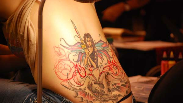 The 2011 Body Art Expo -- the world&#39;s largest tattoo expo, and a &#34;gigantic skin show-off party&#34; -- was at Reliant Center on September 16-18 <span class=meta>(KTRK Photo&#47; Kristy Gillentine)</span>