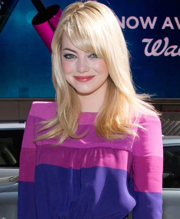 Emma Stone nabbed the fifth spot of People&#39;s top 10 style stars of 2013 <span class=meta>(AP Photo)</span>