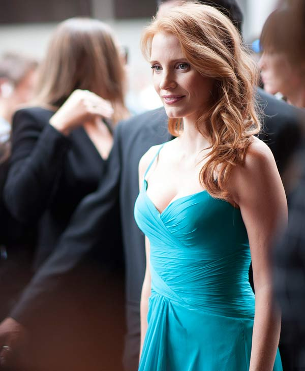 Jessica Chastain took the eight spot on People&#39;s top 10 style stars of 2013 list <span class=meta>(AP Photo)</span>