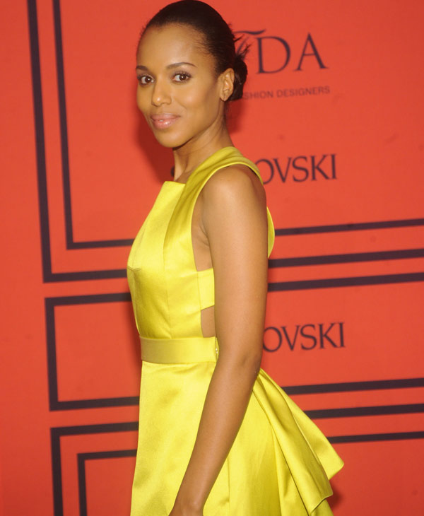Kerry Washington took the No. 1 spot on People&#39;s top 10 style stars of 2013 list <span class=meta>(AP Photo)</span>