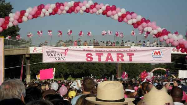 Images from Saturdays Susan G. Komen Race for...