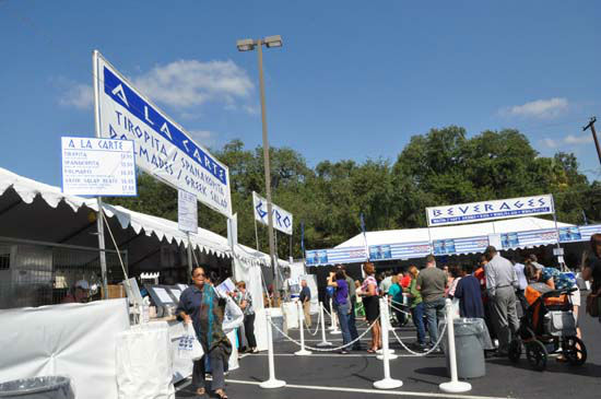 The Original Greek Festival features everything from delicious Greek food, pastries, traditional dancing, shopping for unique items, plus a full slate of special events and presentations.   The festival runs Thursday, Friday, Saturday and Sunday - October 4 -7, 2012. <span class=meta>(ABC-13&#47;Blanca Beltran)</span>